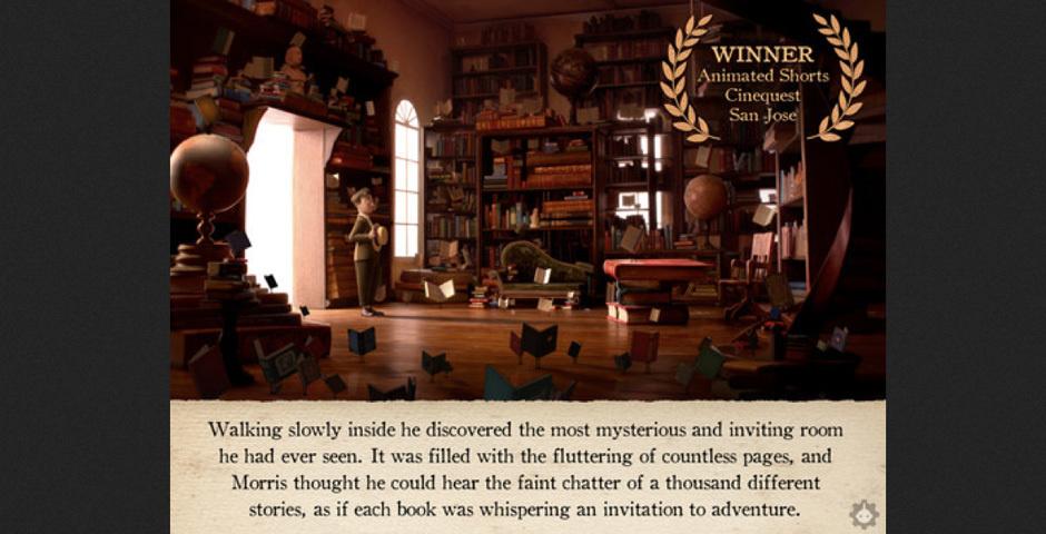 Webby Award Nominee - The Fantastic Flying Books of Mr. Morris Lessmore