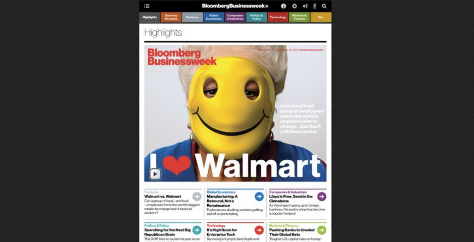 Webby Award Winner - Bloomberg Businessweek+