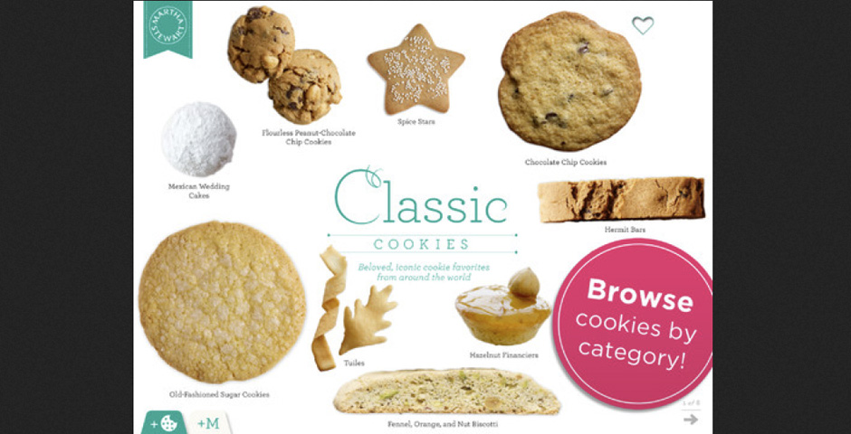 Nominee - Martha Stewart Cookies
