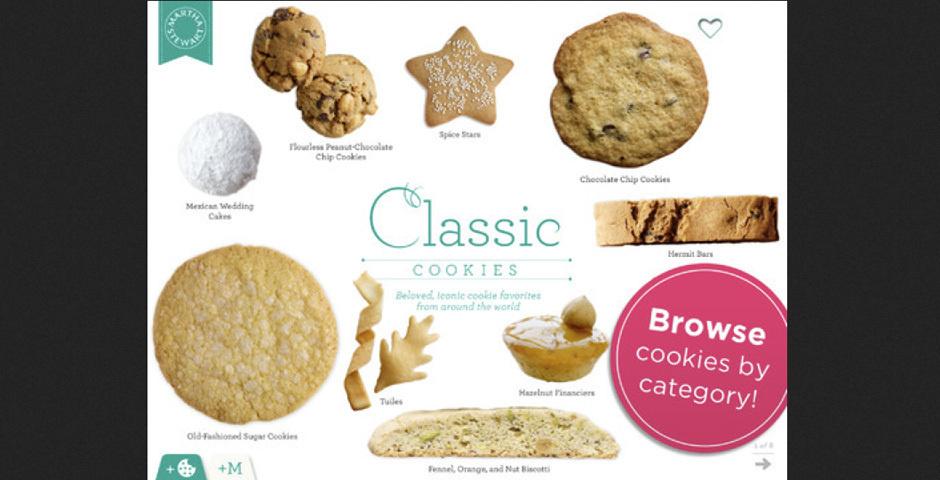 Webby Award Nominee - Martha Stewart Cookies