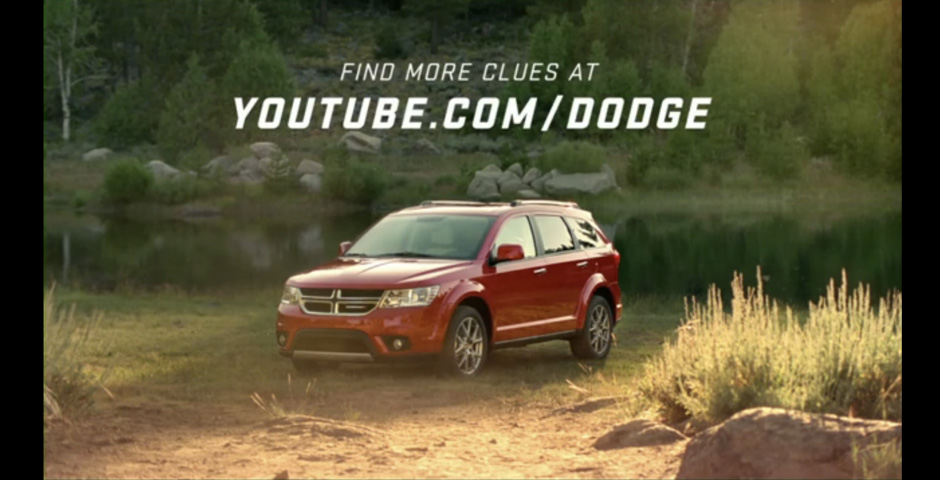 "Nominee - Dodge Journey ""Search Engine For The Real World"""