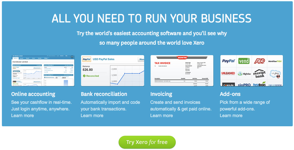 - Xero Online Accounting Software