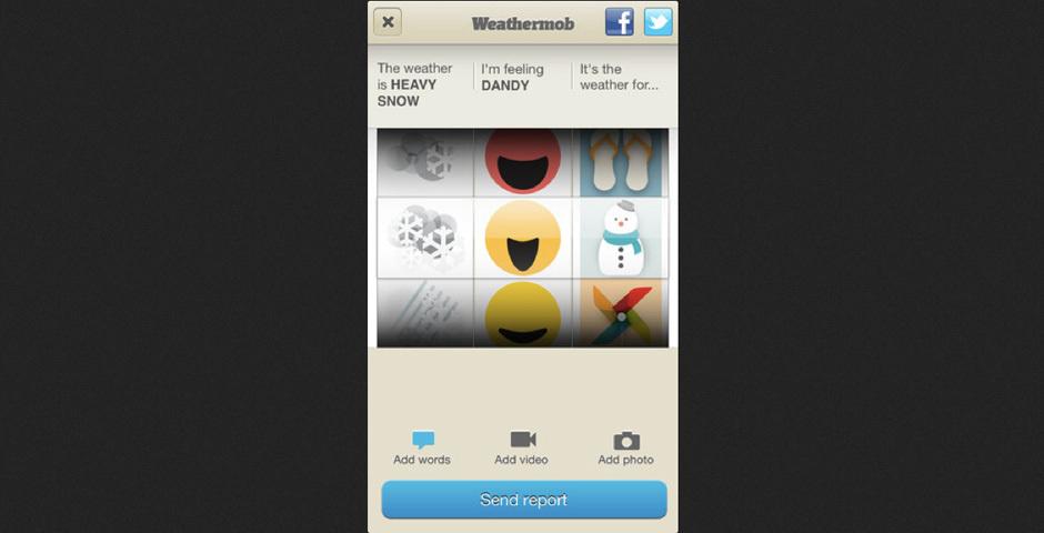 Webby Award Nominee - Weathermob