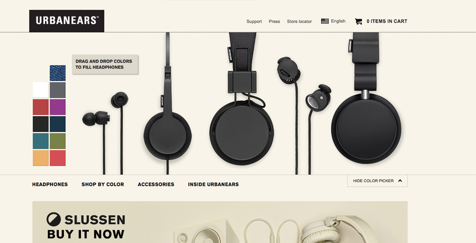 2012 Webby Winner - Urbanears