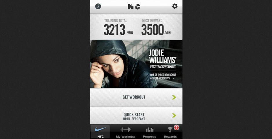 Webby Award Winner - Nike Training Club