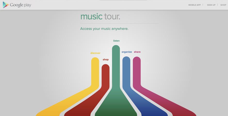 People's Voice / Webby Award Winner - Google Music