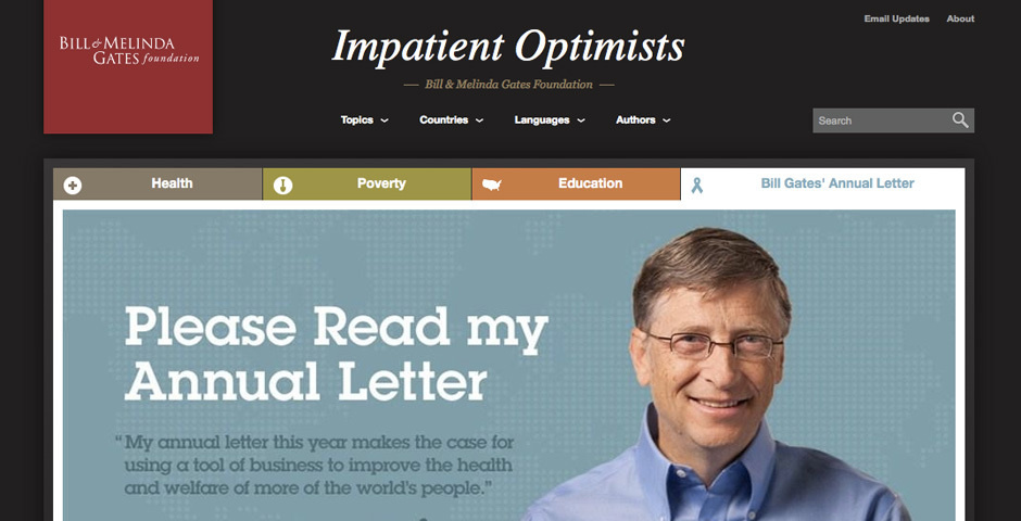 Webby Award Nominee - Impatient Optimists