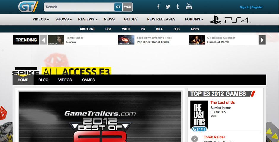 2012 Webby Winner - Game Trailers