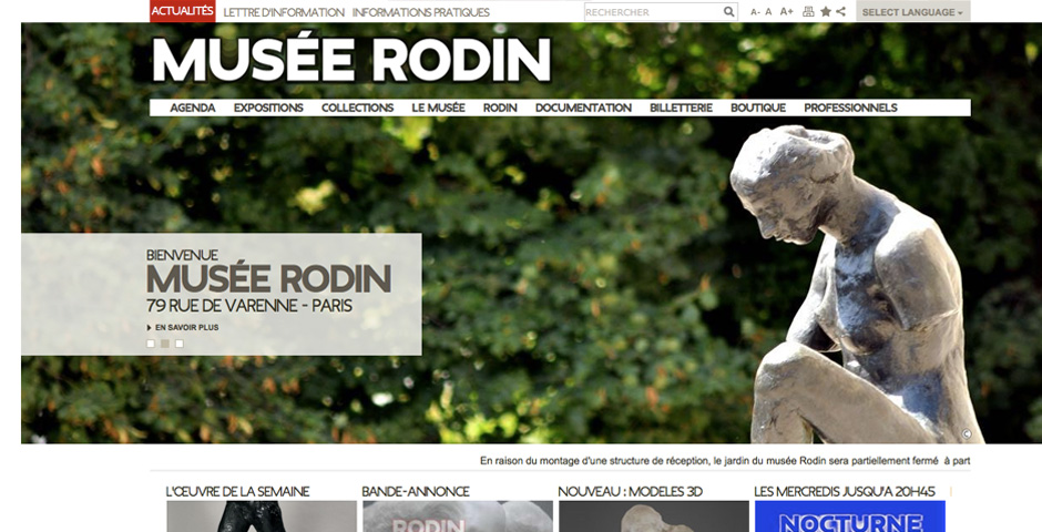 Nominee - Rodin Museum – Paris