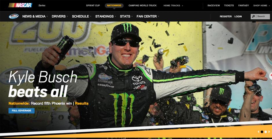 Nominee - NASCAR.COM