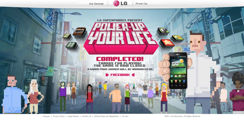 Nominee - LG Power-Up Your Life