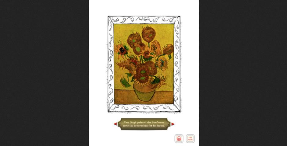 Webby Award Nominee - Van Gogh and the Sunflowers