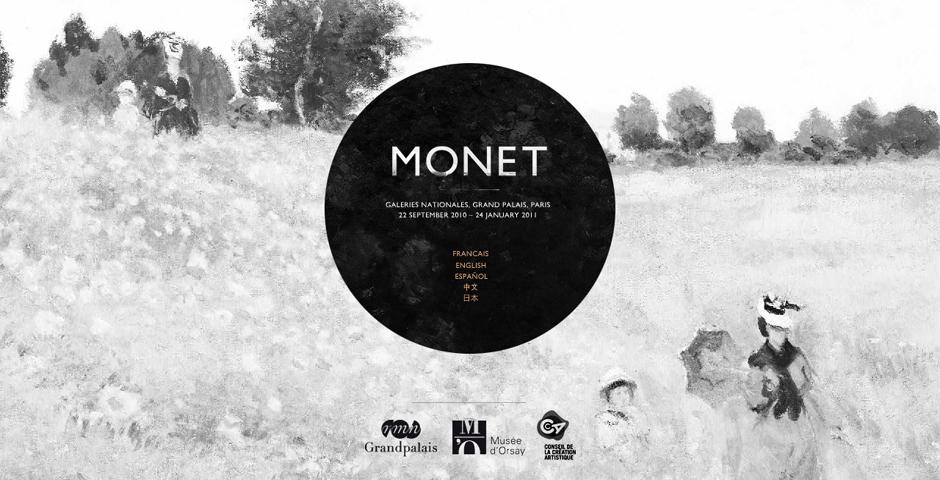 Webby Award Winner - Monet 2010