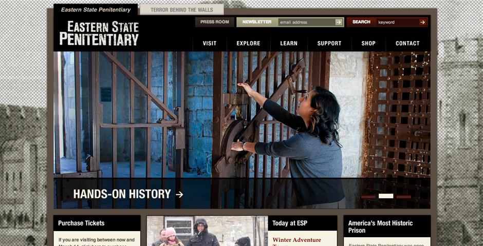 Webby Award Nominee - Eastern State Penitentiary