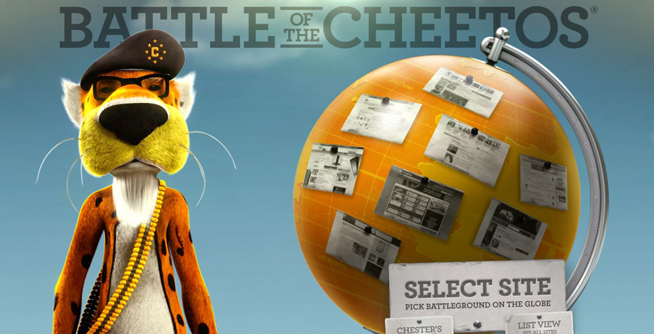 Webby Award Nominee - Battle of the Cheetos