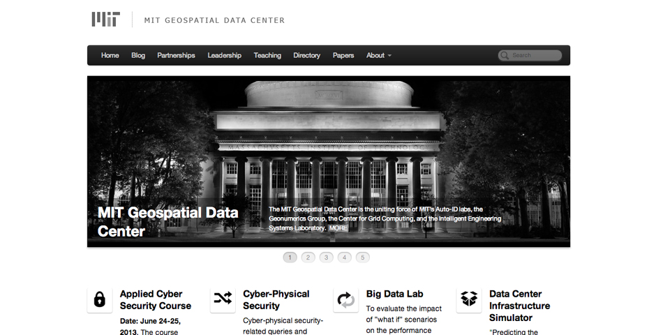 - MIT Geospatial Data Center