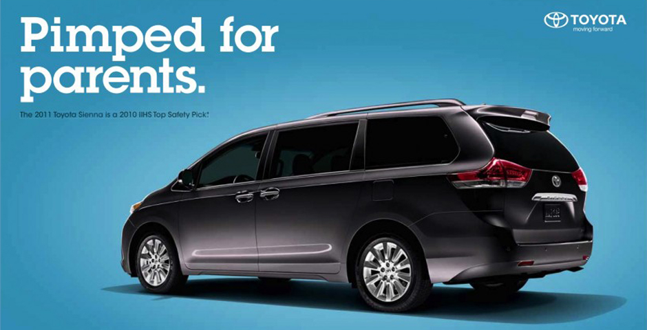 Nominee - Toyota Sienna – Campaign
