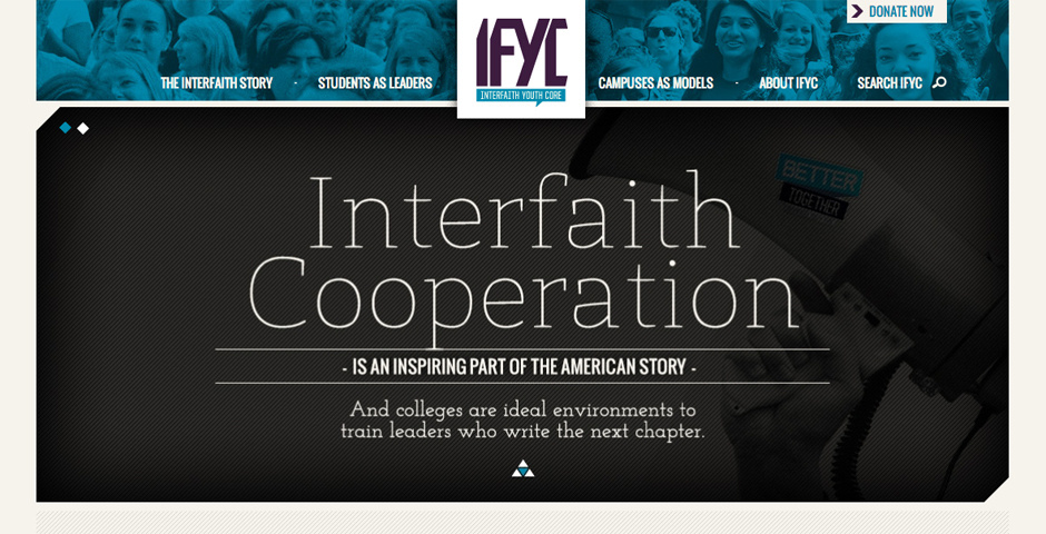 Webby Award Nominee - Interfaith Youth Core