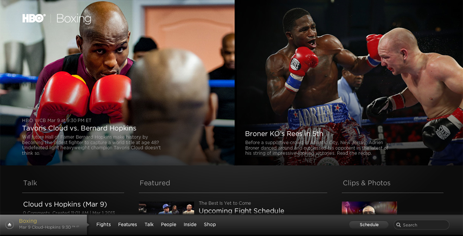 Nominee - HBO.com/boxing