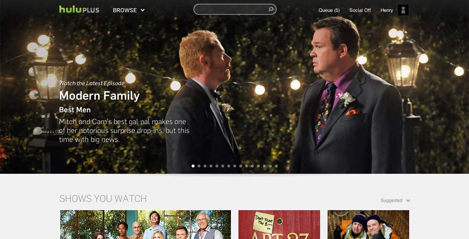 Webby Award Nominee - Hulu