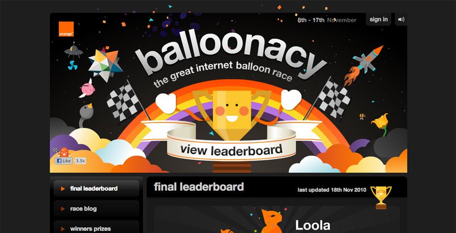 Webby Award Nominee - Balloonacy 2