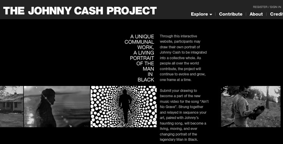 People's Voice / Webby Award Winner - The Johnny Cash Project