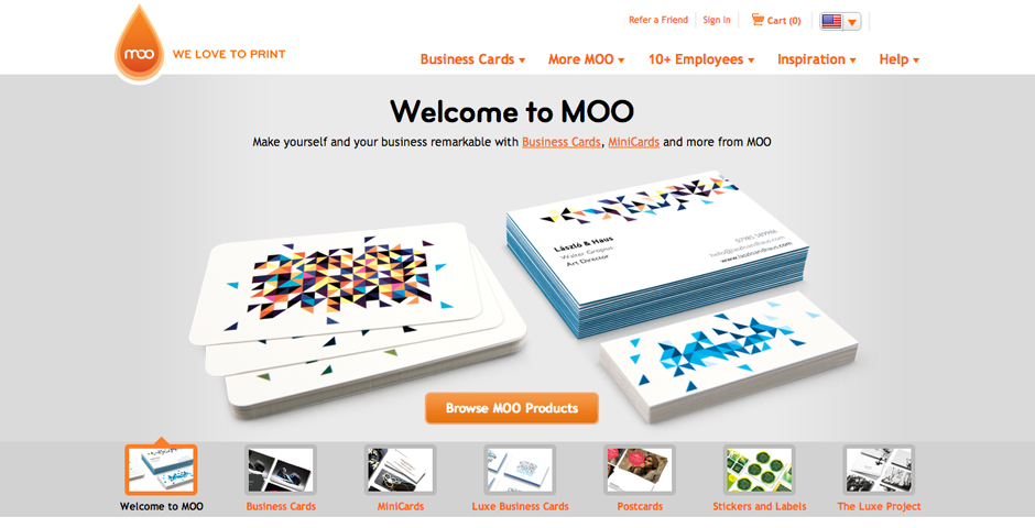 Nominee - MOO.COM