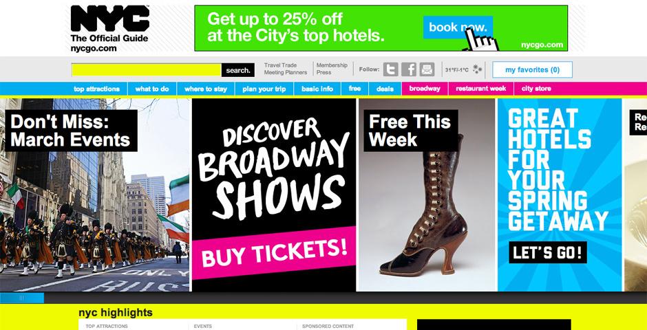 Webby Award Nominee - NYC & Company