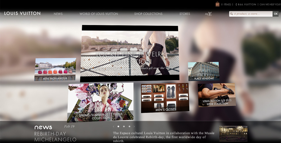 Webby Award Nominee - Louis Vuitton Journeys - Annie Michael