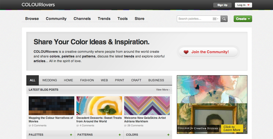 Nominee - COLOURlovers :: Color + Design Community