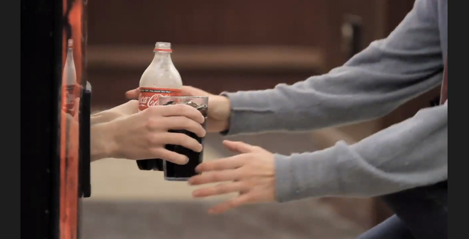 People's Voice / Webby Award Winner - Coca-Cola Happiness Machine Video