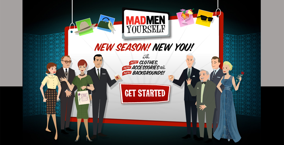 Nominee - Mad Men Yourself