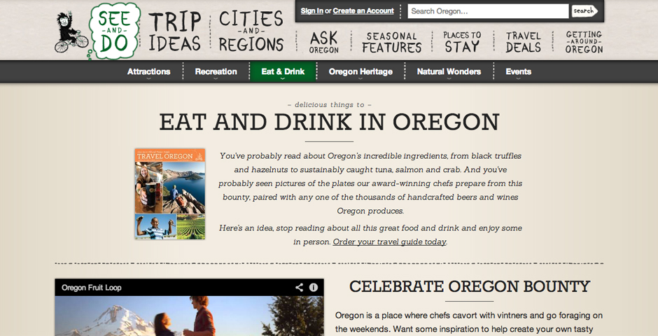 Nominee - Oregon Food and Drink