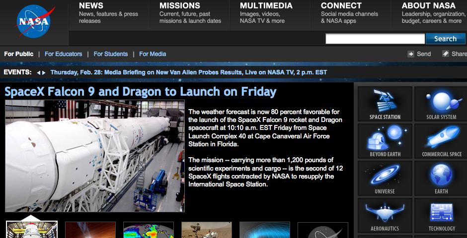 People's Voice - NASA Web Site