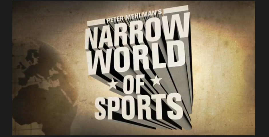 Honoree - Peter Mehlman's Narrow World of Sports