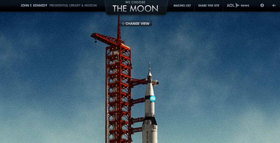 2010 Webby Winner - We Choose The Moon