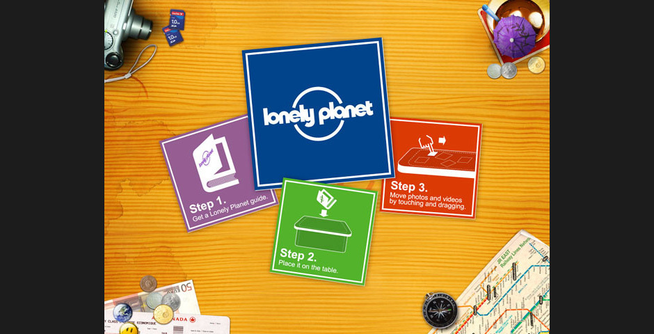 2010 Webby Winner - Lonely Planet on Microsoft Surface