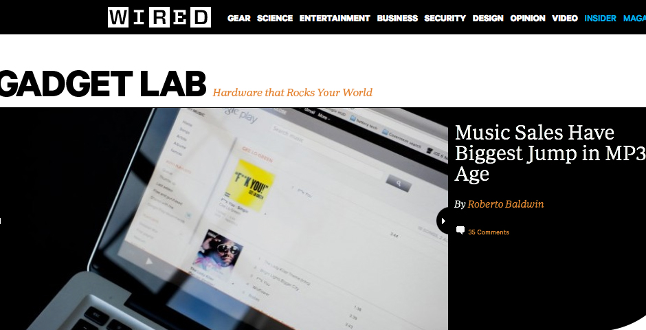 Nominee - Wired.com: GadgetLab