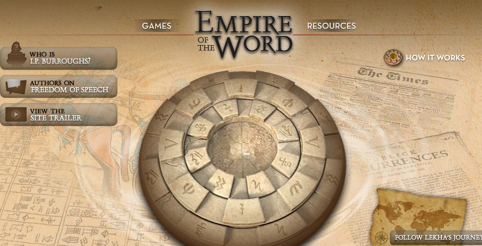Nominee - Empire of the Word