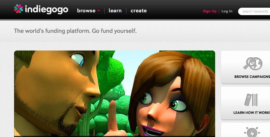 Nominee - IndieGoGo