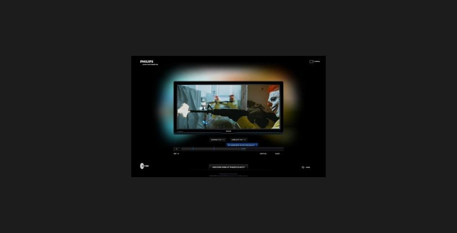 2010 Webby Winner - Philips Cinema 21:9