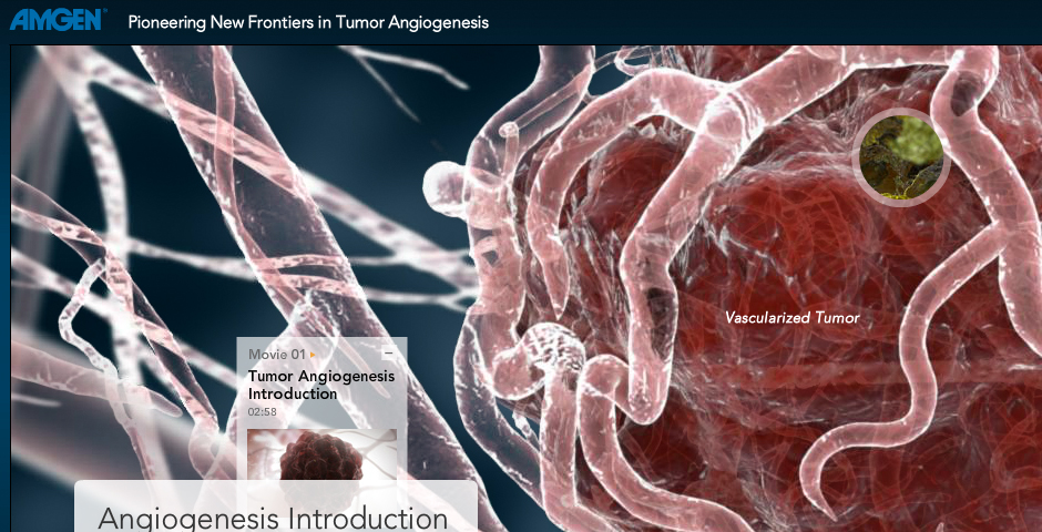 Webby Award Winner - Pioneering New Frontiers in Tumor Angiogenesis