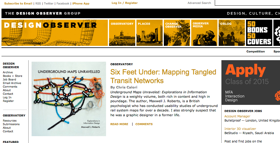 Nominee - Design Observer
