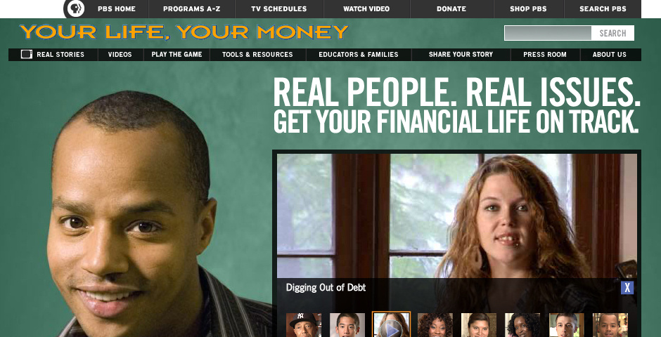 Webby Award Nominee - Your Life, Your Money