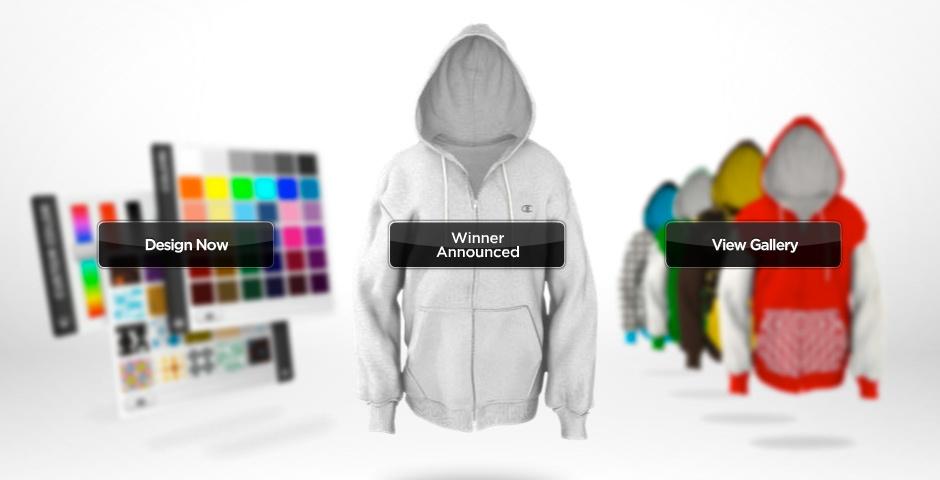 Webby Award Nominee - Champion Hoodie Remix
