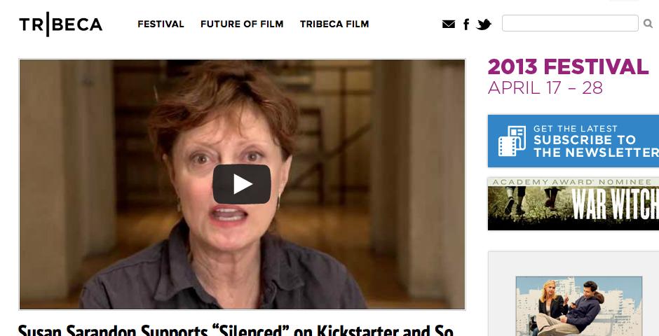 Nominee - Tribeca Film