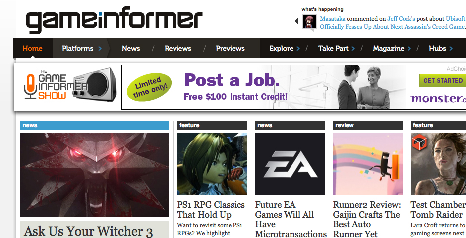 People's Voice - Game Informer