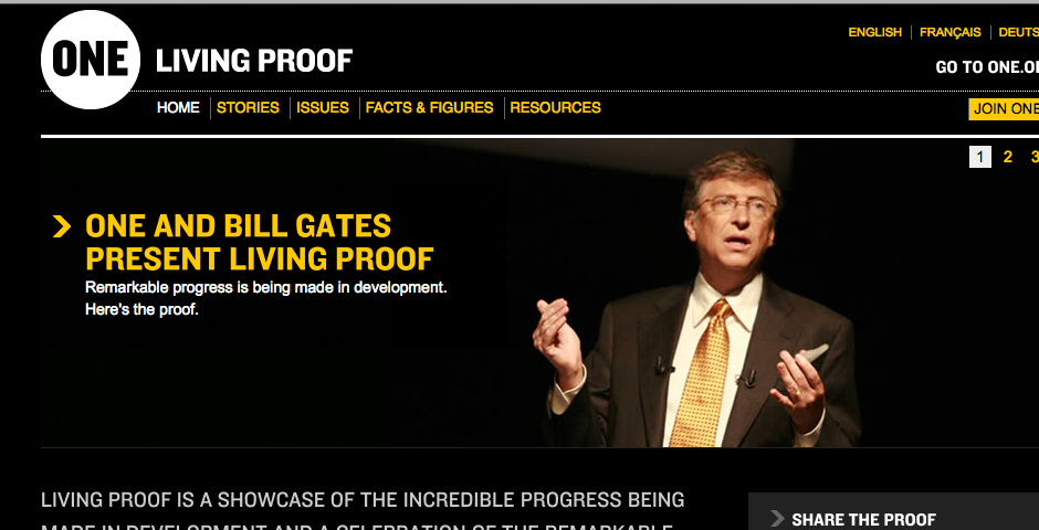Webby Award Nominee - The Living Proof Project