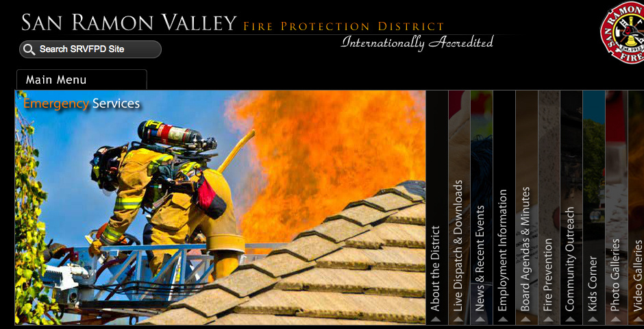 Webby Award Nominee - San Ramon Valley Fire