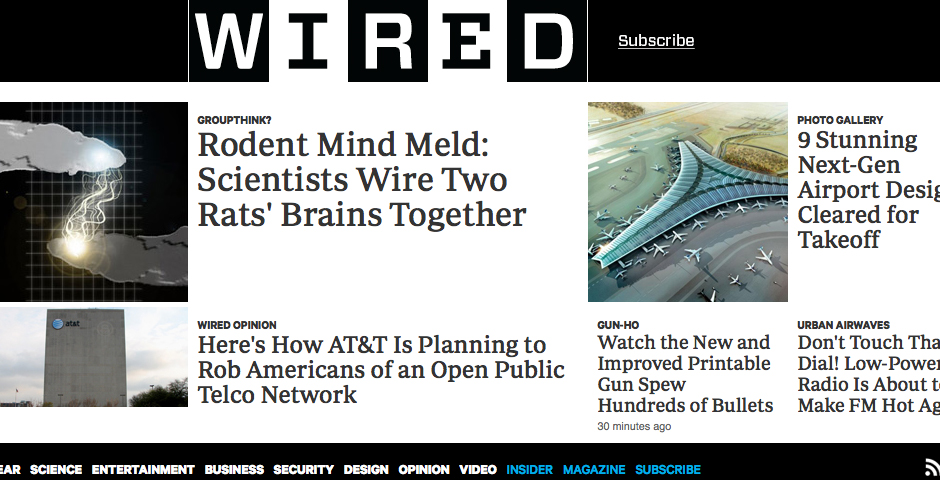 Nominee - Wired.com